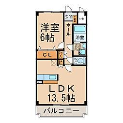 メゾン・ド・オーブII[1階]の間取り