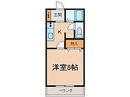 サン・friends安田IIIIII[2階]の間取り