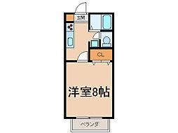 プロスペリテKE[2階]の間取り