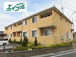 愛知県小牧市大字大山の賃貸アパートの外観