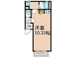 メゾン若草[3階]の間取り