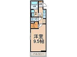 愛知県小牧市郷中2丁目の賃貸アパートの間取り