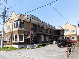 北海道旭川市三条西3丁目の賃貸アパートの外観