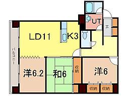 エンドレス55[5階]の間取り
