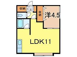 LArc-en-Ciel[1階]の間取り