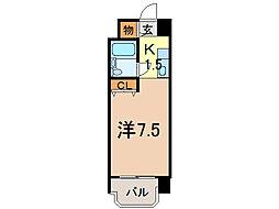 メゾン・ド・ノール[6階]の間取り