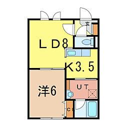 Relache3-1[2階]の間取り