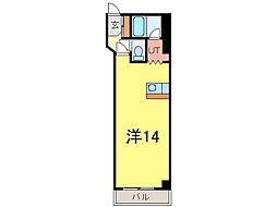 大成5・14ビル[9階]の間取り