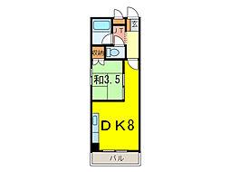 ウインザー8・8[2階]の間取り