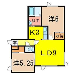 PIT2[1階]の間取り