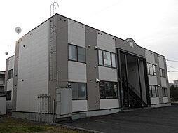 北海道旭川市七条通13丁目の賃貸アパートの外観