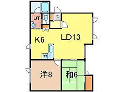トムテ3.24[2階]の間取り