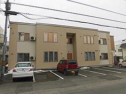 北海道旭川市六条西2丁目の賃貸アパートの外観