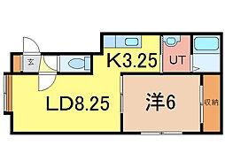 グランクレール3・3[1階]の間取り