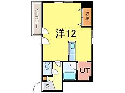 エーコー第5ビル[9階]の間取り