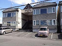 北海道旭川市亀吉二条1丁目の賃貸アパートの外観