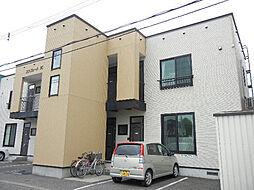 北海道旭川市十条通14丁目の賃貸アパートの外観