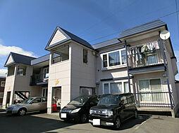 北海道旭川市大町二条1の賃貸アパートの外観