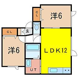 マイステージ[1階]の間取り