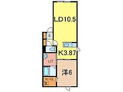 Grand LineV[2階]の間取り