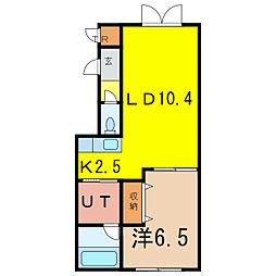 ステラガーデン4[1階]の間取り