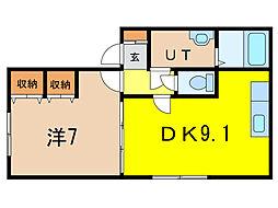 ほまれM[2階]の間取り
