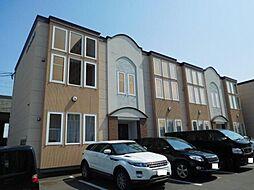 北海道旭川市七条通17丁目の賃貸アパートの外観