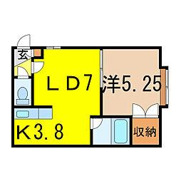 アルペジオI[2階]の間取り