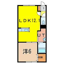 MODE-A[1階]の間取り