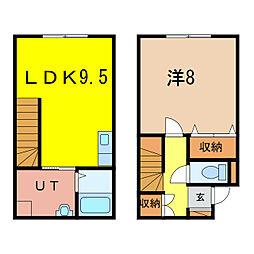 4-23MS 新築[1階]の間取り