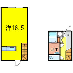 A・M・S(曙)[1階]の間取り