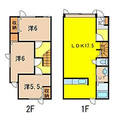 bonheurII[1階]の間取り