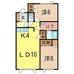 KTハウスB[2階]の間取り