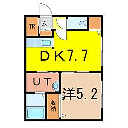 3-11 新築[1階]の間取り