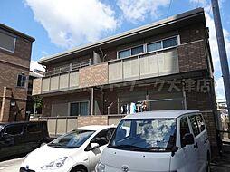 滋賀県大津市中央3丁目の賃貸アパートの外観