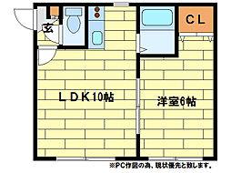第7大慶ビル[2階]の間取り