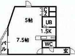 ミラバ澄川[6階]の間取り