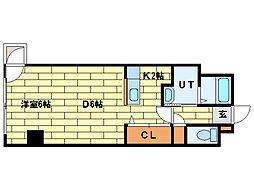 プロシード澄川[7階]の間取り