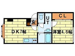 澄川2・4[3階]の間取り