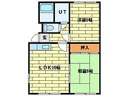 ハイムS31[1階]の間取り