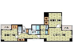 游ライフII[2階]の間取り