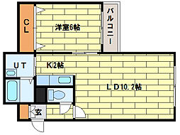 ROSSO[1階]の間取り