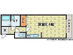 グラナイト414[4階]の間取り