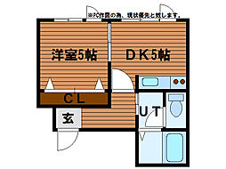 K・I47[1階]の間取り