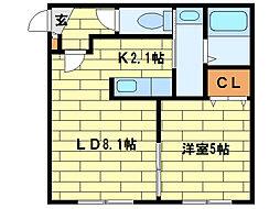 North Points澄川[1階]の間取り