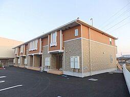 埼玉県加須市南篠崎の賃貸アパートの外観