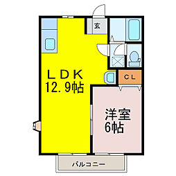 花崎駅 4.4万円