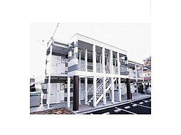 広島県福山市久松台2丁目の賃貸アパートの外観