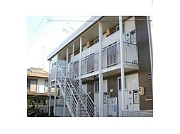 広島県福山市能島3丁目の賃貸アパートの外観