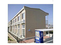 広島県福山市高西町2丁目の賃貸アパートの外観